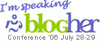 I am speaking at BlogHer