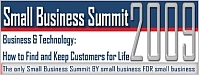 Small Business Summit 2009: The Value of Customer Service