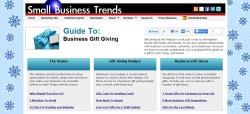 Holiday Business Gift Giving Guide